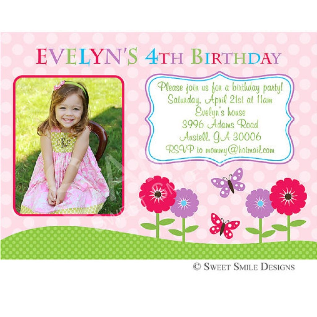 4th birthday invitation wording ; Surprising-4Th-Birthday-Invitation-Wording-As-Free-Printable-Birthday-Party-Invitations