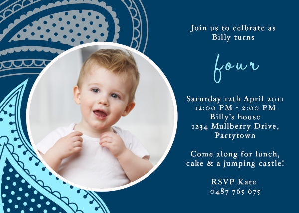 4th birthday invitation wording boy ; boys-4th-birthday-invitations