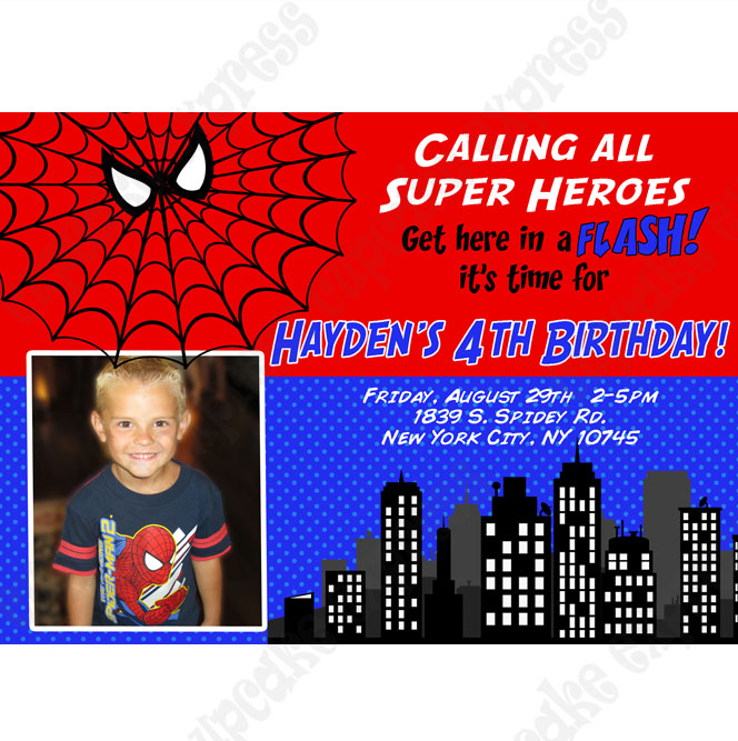 4th birthday invitation wording boy ; spiderman-birthday-invitation-wording-boys-printable-birthday-invitations-spiderman-birthday-invitation-wording