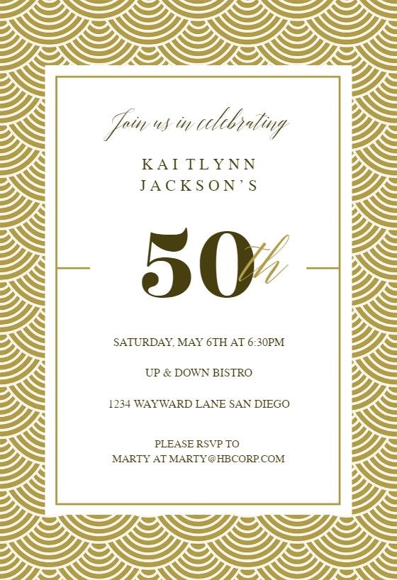 50 years birthday invitation card ; New-50Th-Birthday-Invitation-Template-Which-You-Need-To-Make-Birthday-Invitation-Cards