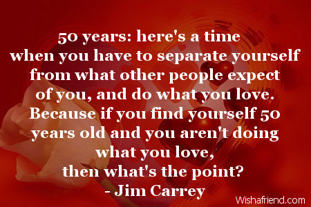 50 years message birthday ; 67-50th-birthday-quotes