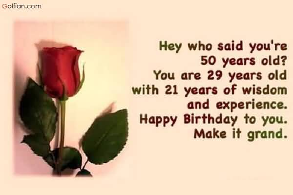 50 years message birthday ; Beautiful-Red-Rose-Birthday-Wishes-For-Far-Away