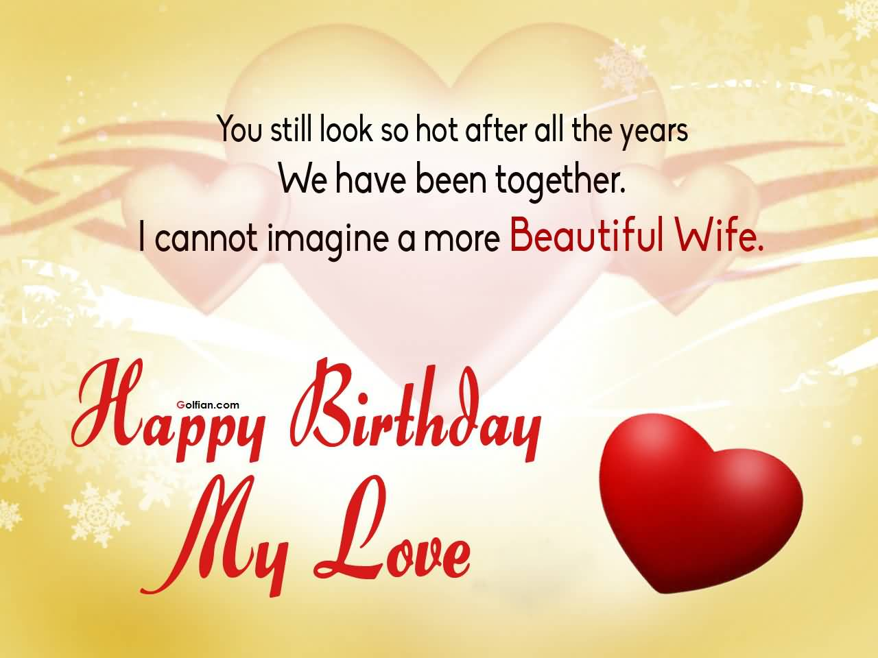 50th birthday message for wife ; Wife-Birthday-Quotations-043