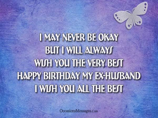 50th birthday message to husband ; Birthday-messages-for-Ex-Husband