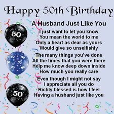 50th birthday message to husband ; af2def42e098a8745b9b7cea30b072da