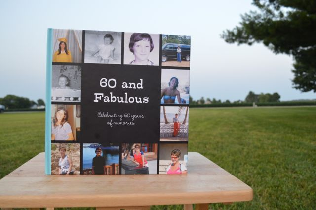 50th birthday photo book ideas ; 60-years-of-memory-book-gift2