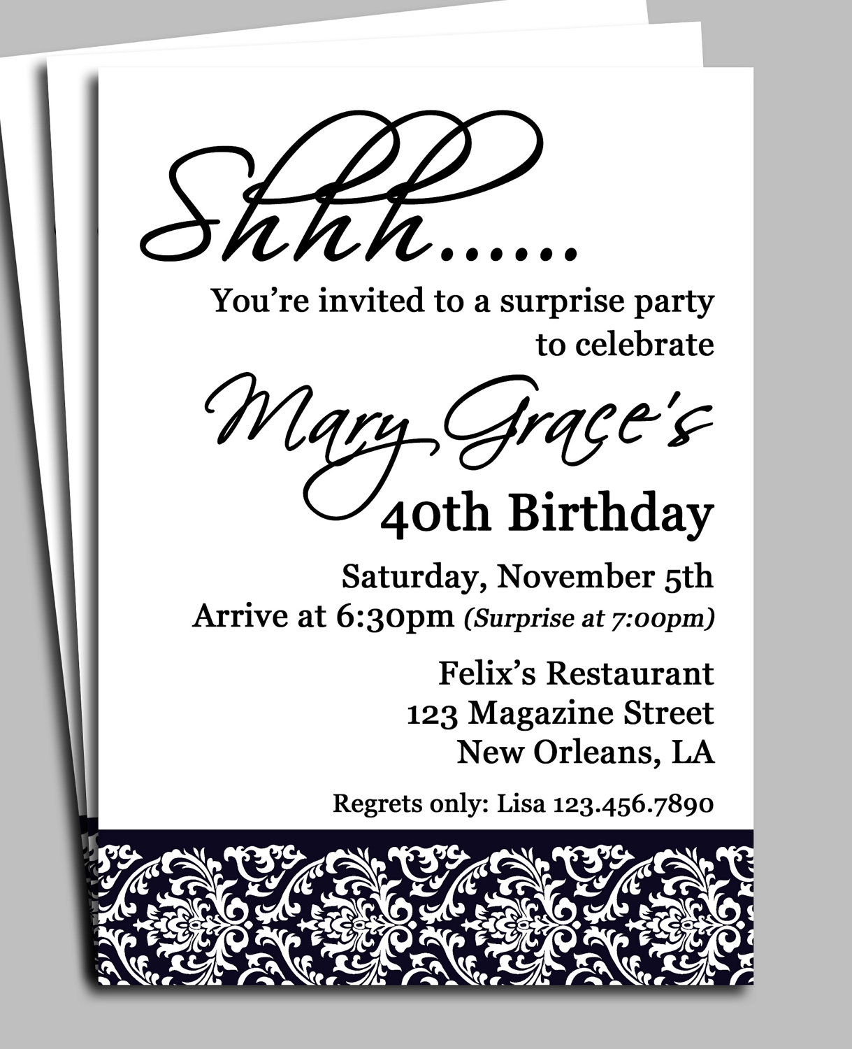 55th birthday invitation template ; stunning-40th-birthday-invitation-wording-some-nice-looking-Birthday-invitation-free-to-use-9