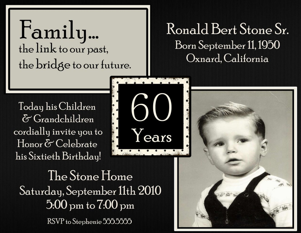 60th birthday invitation examples ; 60th-birthday-invitation-wording-with-the-simple-Birthday-Invitation-5