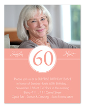 60th birthday invitation examples ; ICRLP914