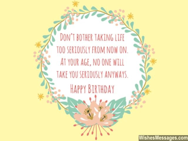 60th birthday message for mother ; Funny-birthday-wish-for-old-person-age-joke-greeting-card-640x480