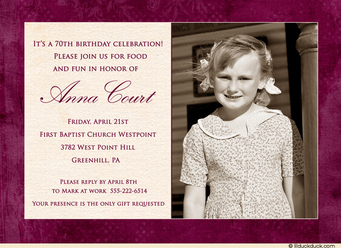 60th birthday party invitation sayings ; Maroon-60th-Birthday-Party-Invitations