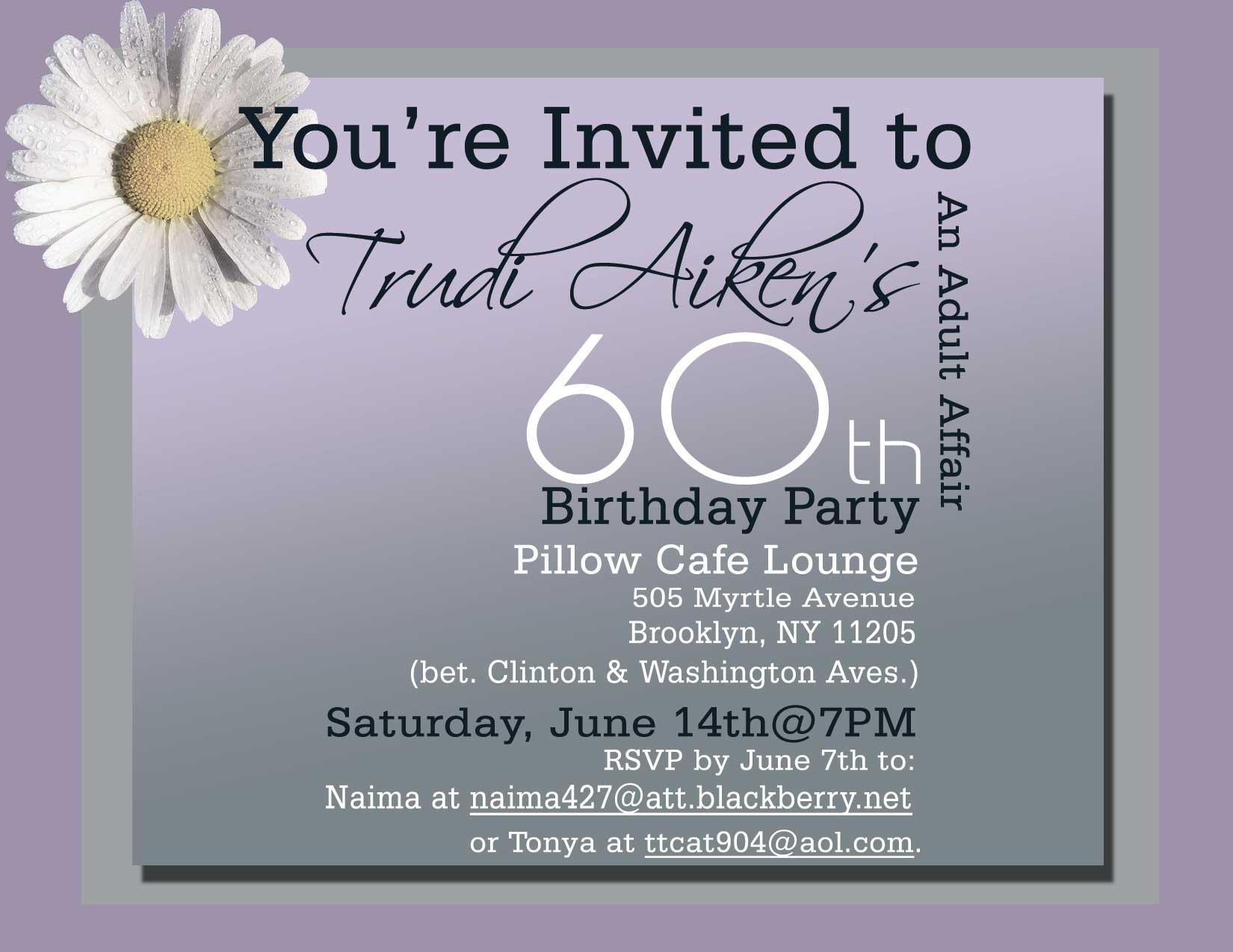 60th birthday party invitation sayings ; stunning-60th-birthday-invitation-wording-sample-of-winsome-Birthday-invitation-to-initiate-your-idea-7