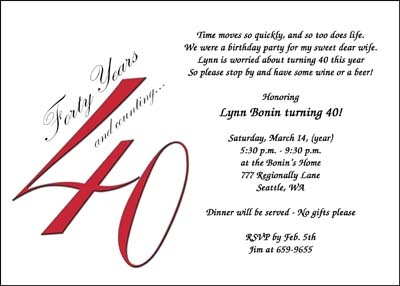 65th birthday invitation verses ; 40th-birthday-invitation-wording-for-a-adorable-birthday-design-with-adorable-layout-1