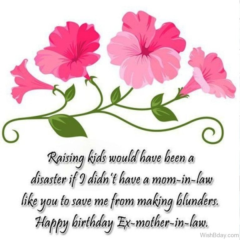 65th birthday message for mom ; Happy-Birthday-Ex-Mother-In-Law