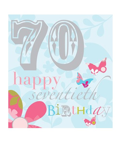 70th birthday cards ; card-crush-greetings-think-of-me-designs-happy-70th-birthday-card-dk38-510x600