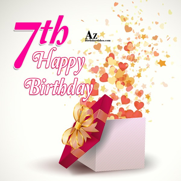 7th birthday message to a son ; azbirthdaywishes-15034
