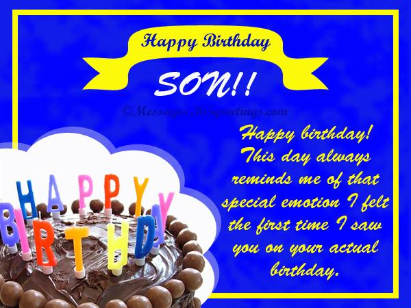 7th birthday message to a son ; birthday-messages-for-son