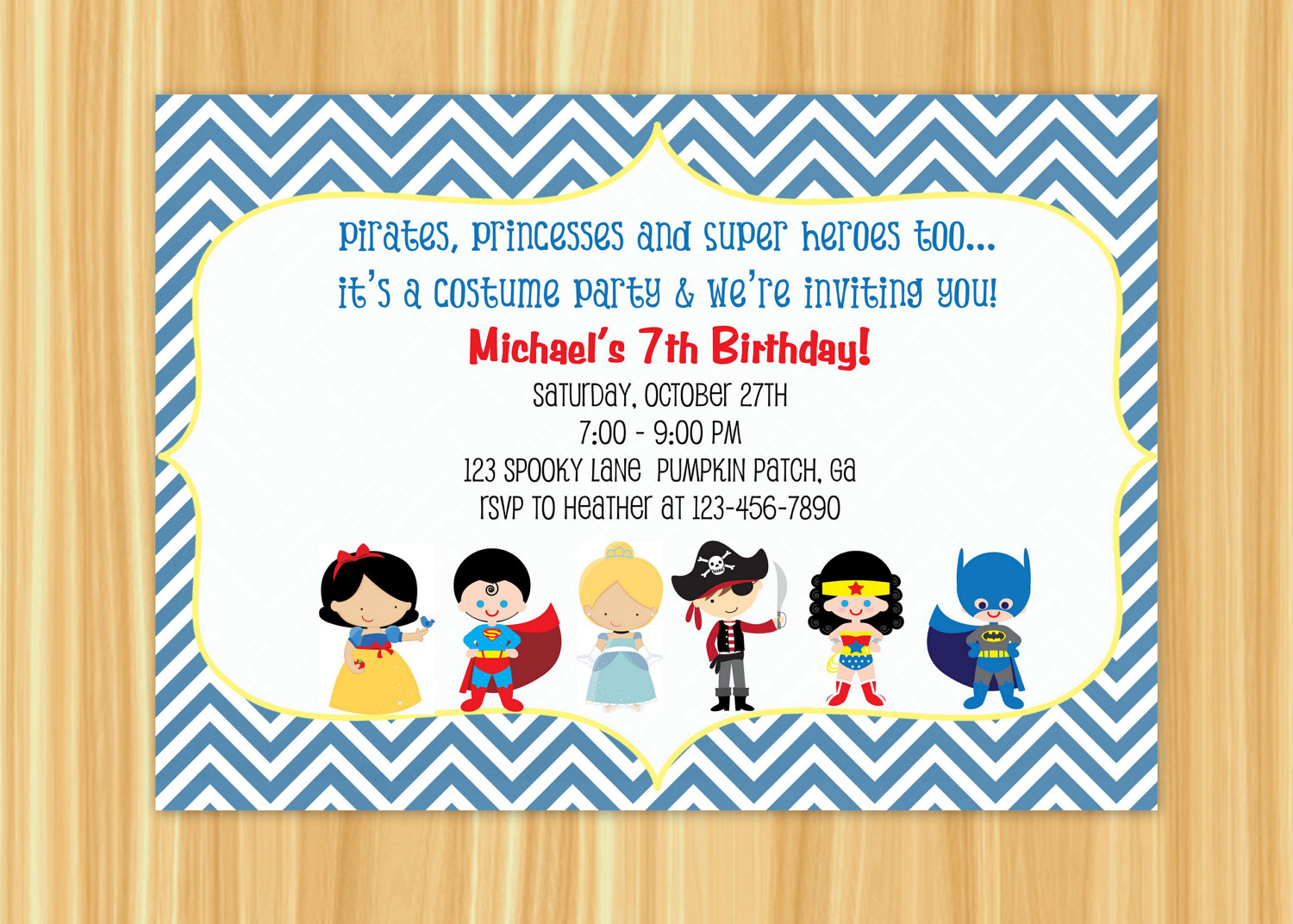 7th birthday party invitation ideas ; Custom-birthday-party-invitations-is-adorable-ideas-which-can-be-applied-into-your-party-invitation-1