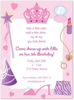 7th birthday party invitation ideas ; c5f837a40d5d54e0e2b65a188c2a34af--princess-dress-up-birthday-party-princess-party-invitations