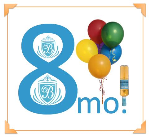 8 months old birthday message ; 8mo_Brenne