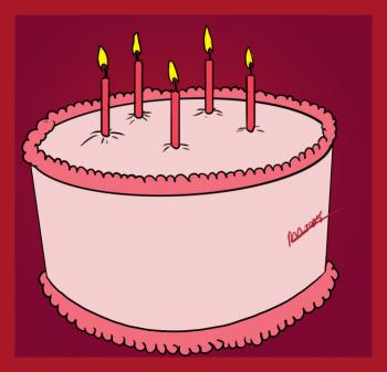 a birthday cake photo ; x7c_how-to-draw-a-simple-birthday-cake-tutorial-drawing