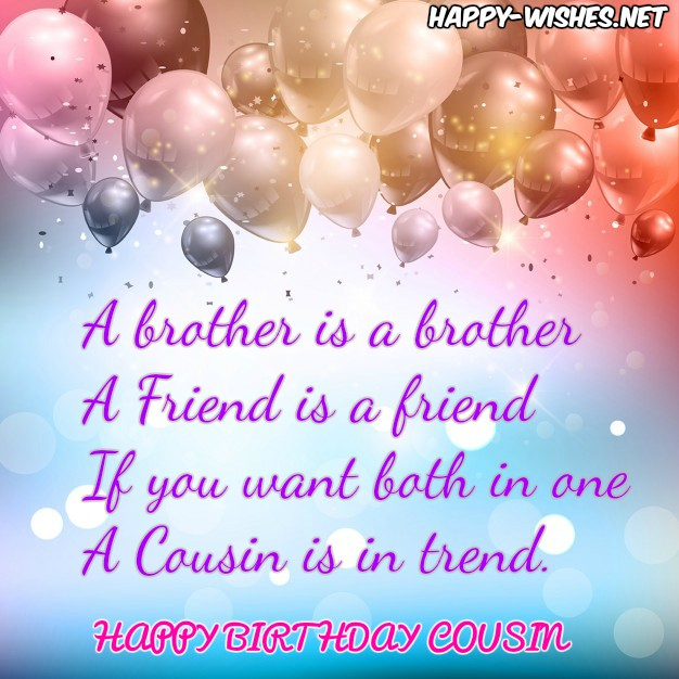 a birthday message for a cousin ; Happy-birthday-quotes-for-cousin-2