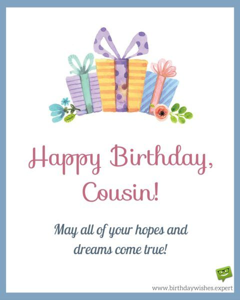 a birthday message for a cousin ; a436518b2339ac58cebde105b3ea4923--birthday-qoutes-birthday-messages