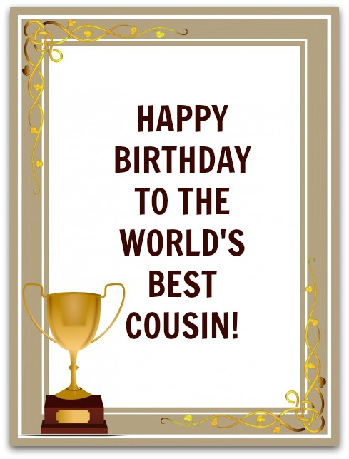a birthday message for a cousin ; cousin-birthday-wishes-4