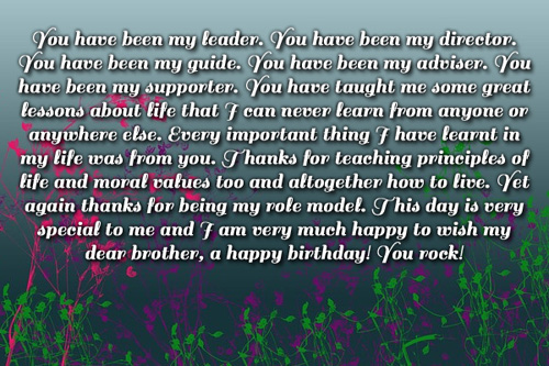 a birthday message to my brother ; 11702-brother-birthday-messages