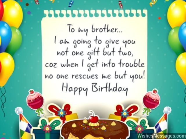 a birthday message to my brother ; 272567-To-My-Brother