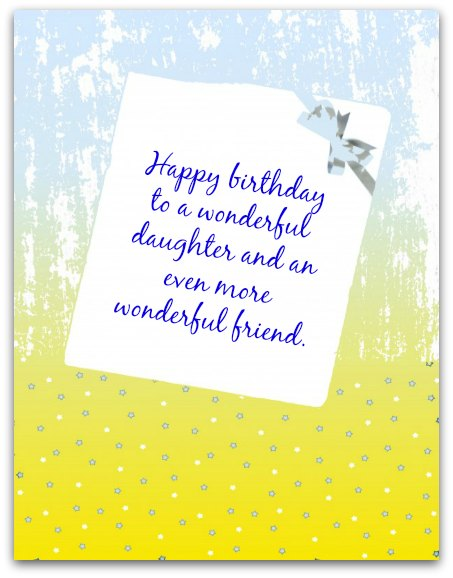 a birthday note ; NotePaper1