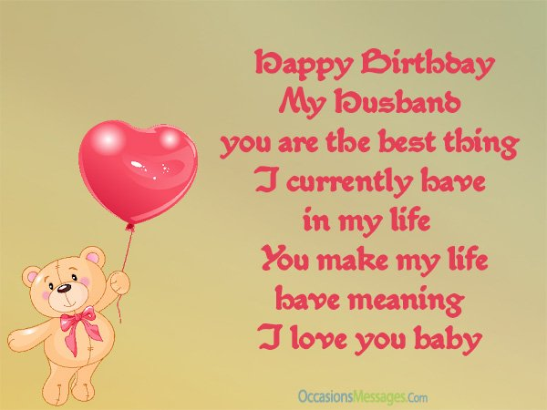 a birthday wish for my husband ; birthday-Messages-for-husband
