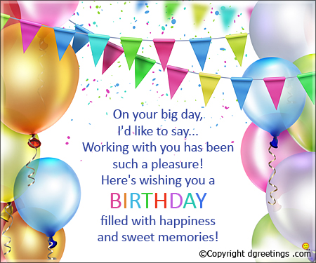 a great happy birthday message ; on-your-big-day-card