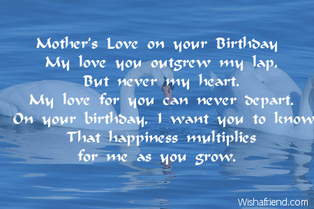 a mother's poem to her daughter on her birthday ; 2467-daughter-birthday-poems