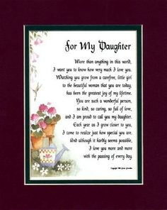 a mother's poem to her daughter on her birthday ; 411eb3710a4a2a3f9365b40c0497f116--poems-for-daughters-birthday-quotes-for-daughter