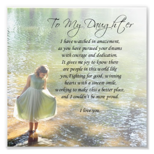 a mother's poem to her daughter on her birthday ; 6ddd0ccc932cd11bfe497ac7808d742f