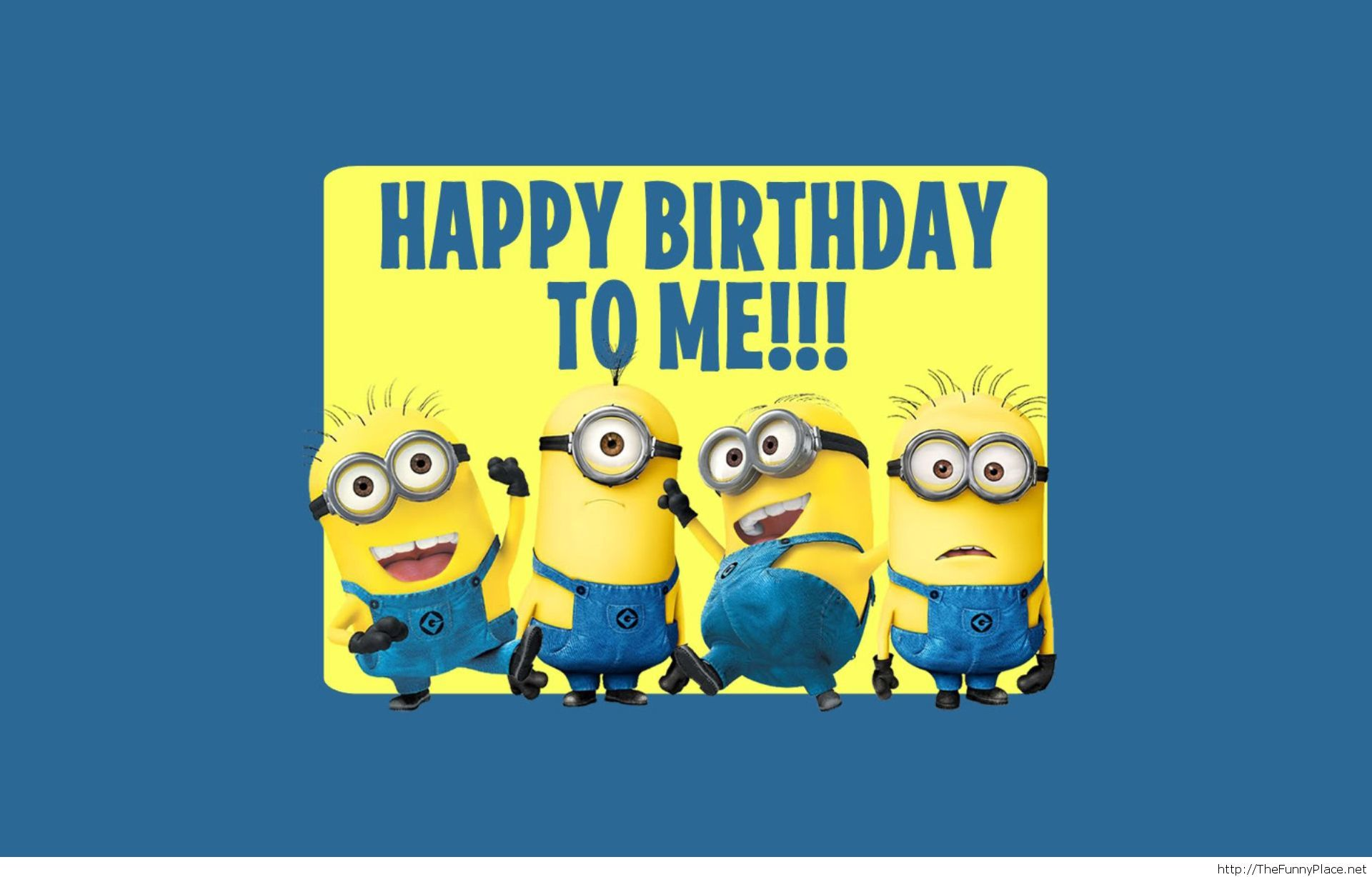 a picture saying happy birthday ; Happy-birthday-to-me-minions-saying
