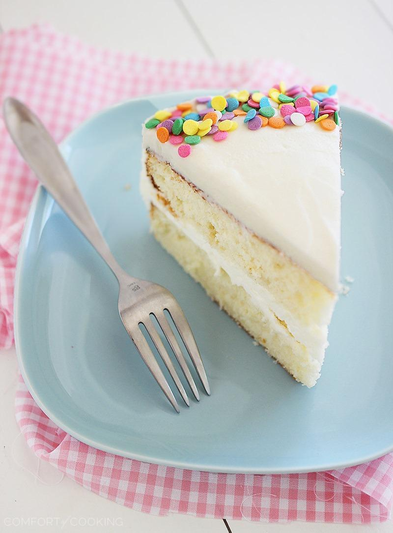 a piece of birthday cake ; a-piece-of-birthday-cake-yellowbirthdaycake-4
