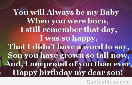 a poem for my son on his birthday ; 2626-son-birthday-poems