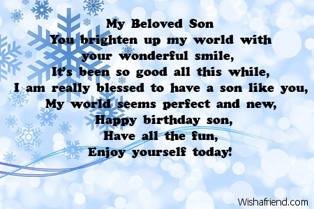 a poem for my son on his birthday ; 2633-son-birthday-poems