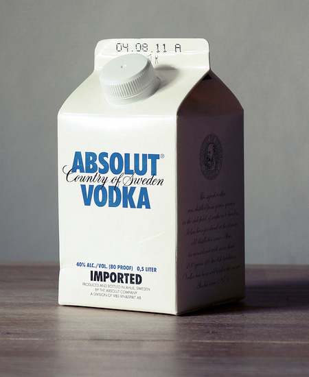 absolut vodka birthday card ; ecohols02