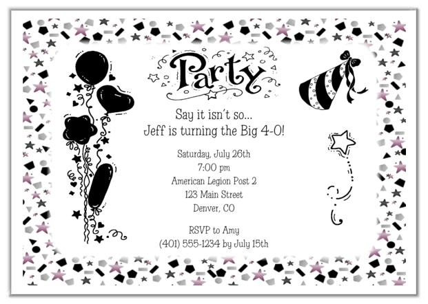 adults only birthday invitation wording ; 0013ea38c6c70474827c935f4736eb3e