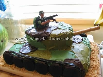 army tank birthday cake picture gallery ; 3326133ae71f401f400c16eb8f13730c--army-birthday-cakes-army-themed-birthday
