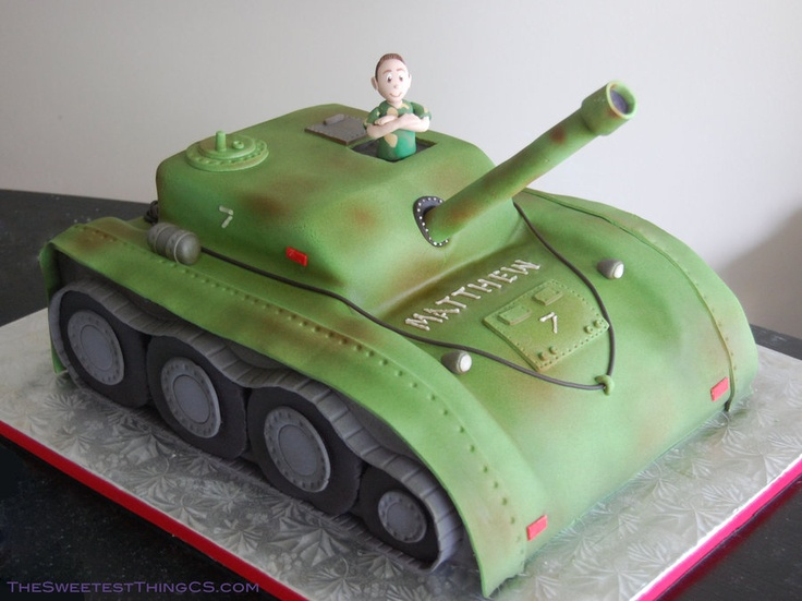 army tank birthday cake picture gallery ; 88668f6158cd2fdeb91b982092b541c4--army-tank-cake-army-cake