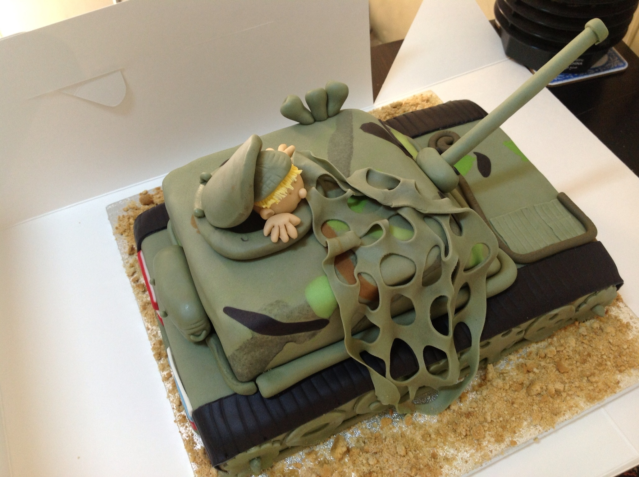 army tank birthday cake picture gallery ; 900_89509354QG_army-tank-birthday-cake