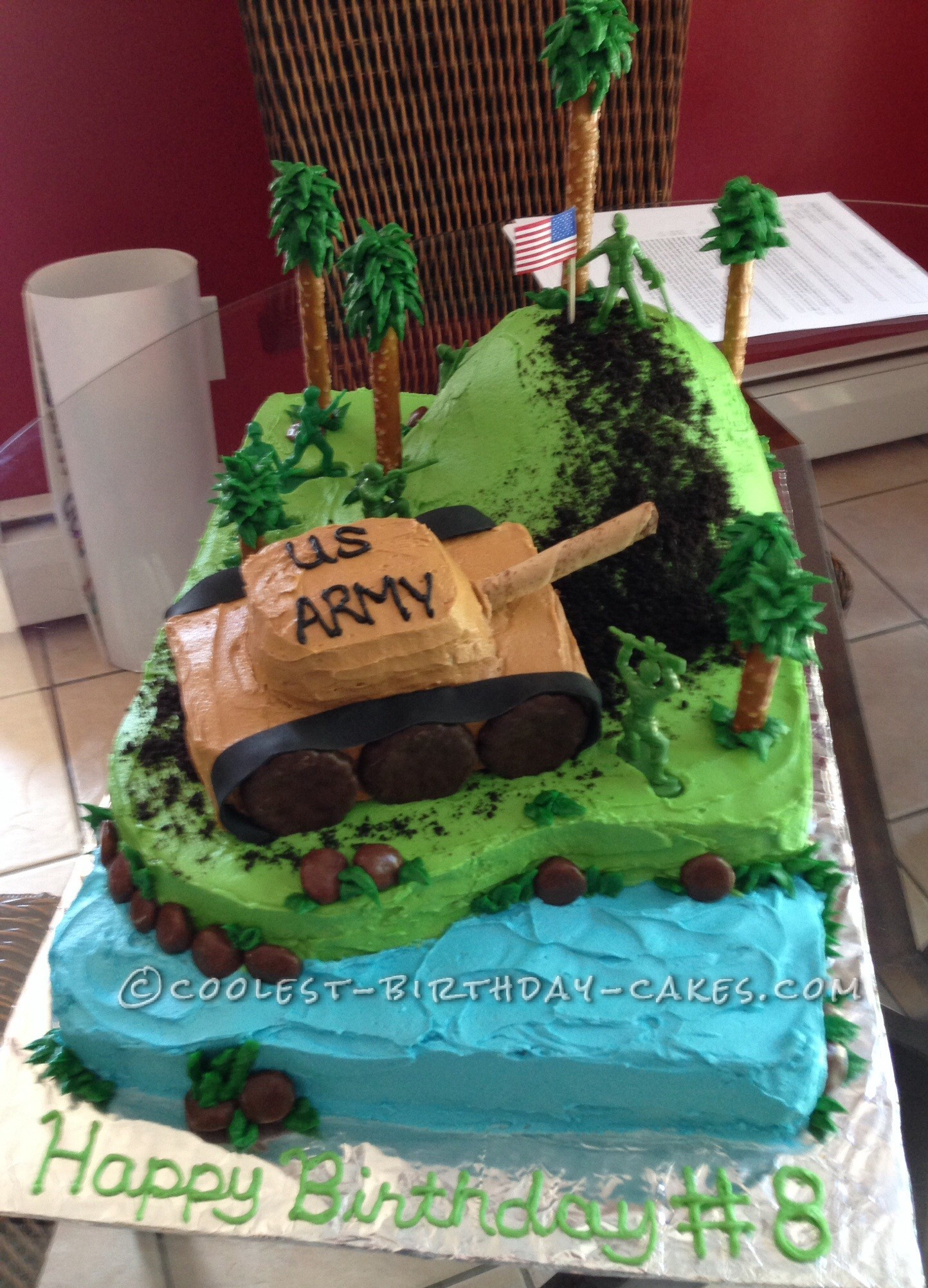 army tank birthday cake picture gallery ; absolutely-ideas-army-cake-coolest-homemade-tanks-cakes