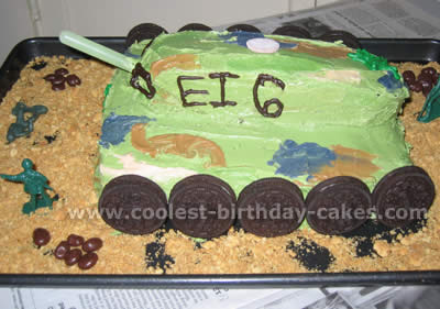 army tank birthday cake picture gallery ; birthday-cake-picture-09a
