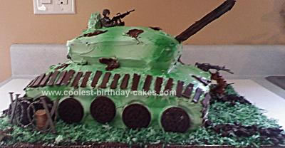 army tank birthday cake picture gallery ; coolest-army-tank-birthday-cake-70-21342760