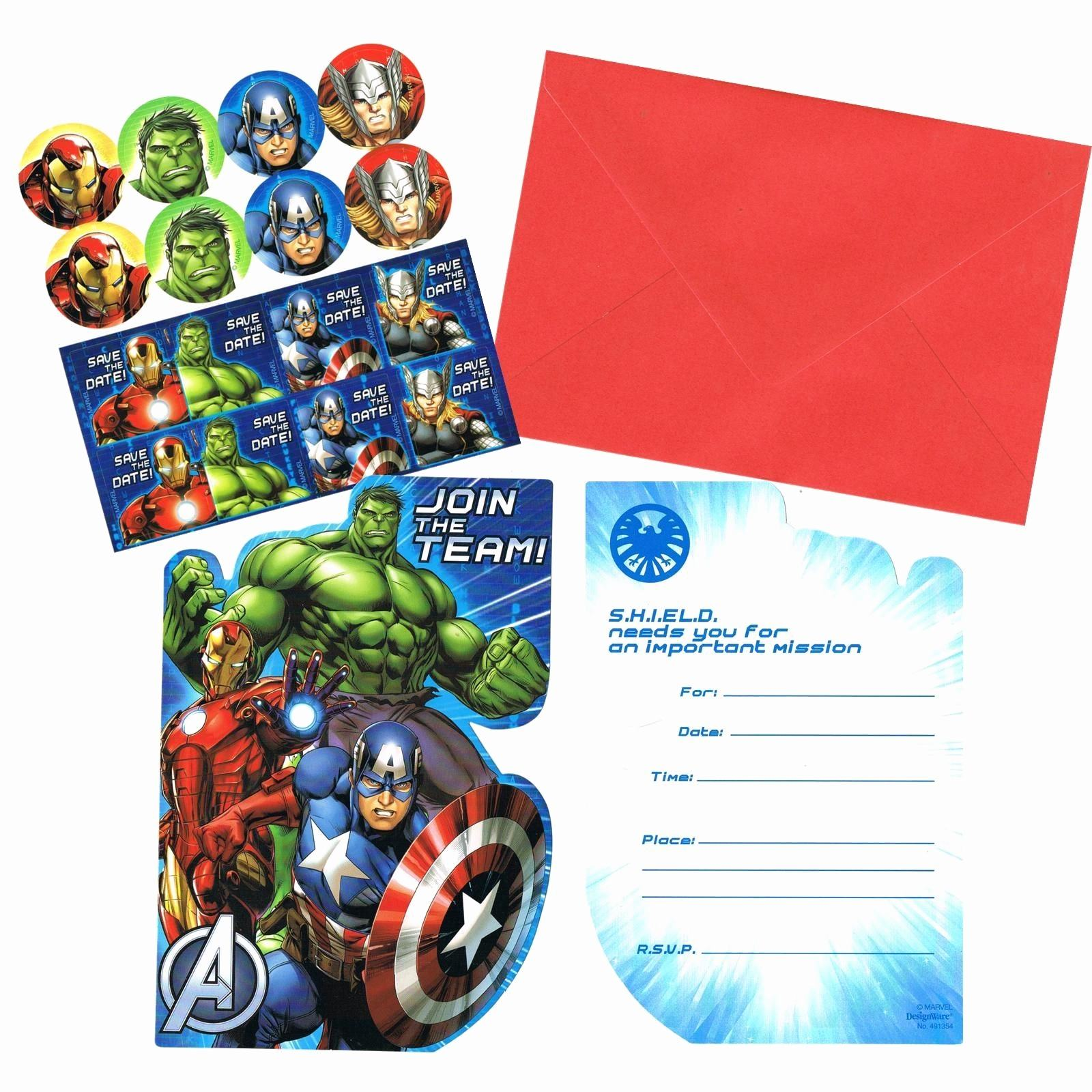 avengers birthday card template ; marvel-birthday-party-invitations-example-for-free-avengers-birthday-card-template-elegant-marvel-party-invitations-of-marvel-birthday-party-invitations
