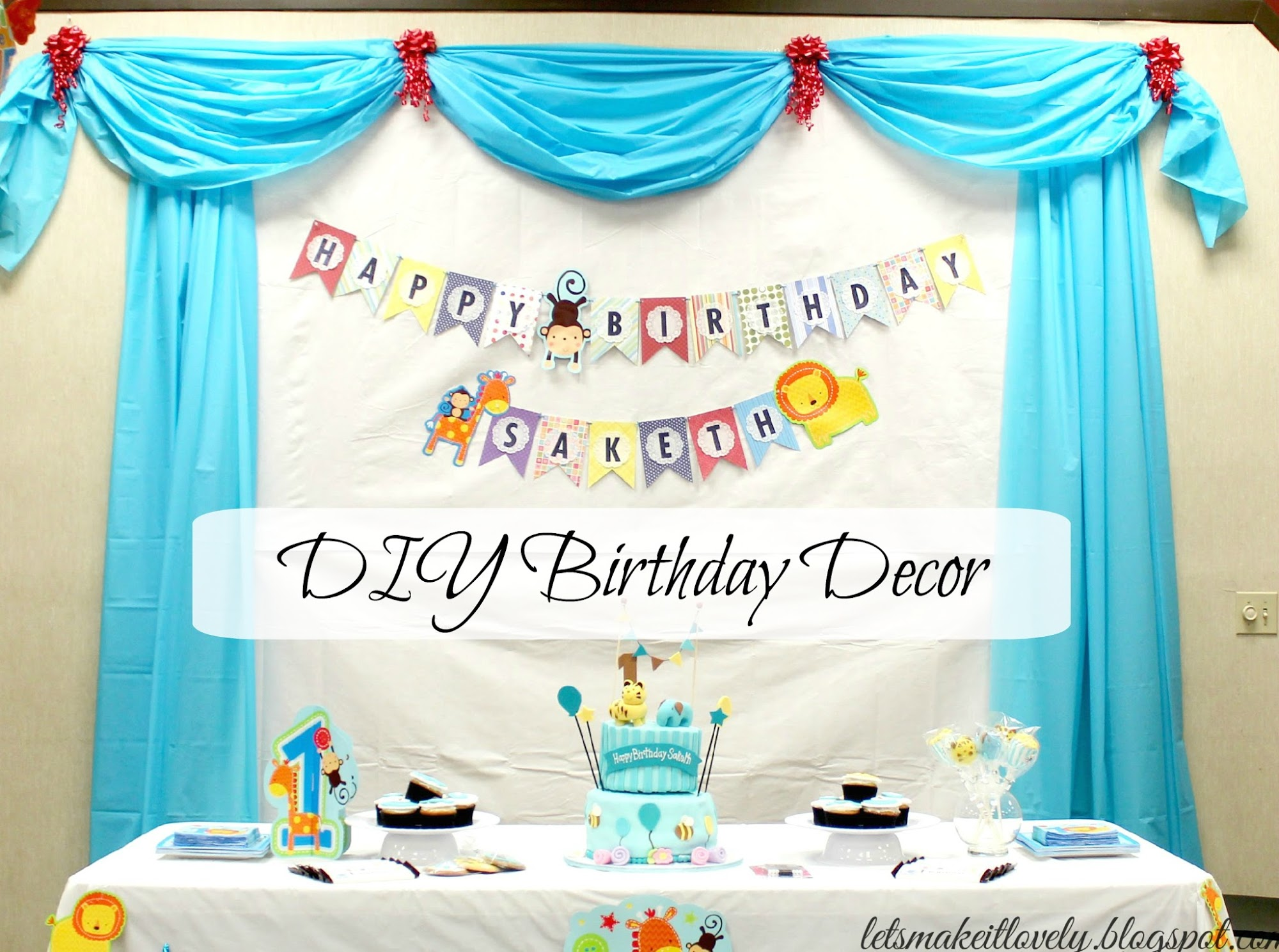 backdrop ideas for birthday party ; 1YearBoyBirthdayParty1%2525281%252529